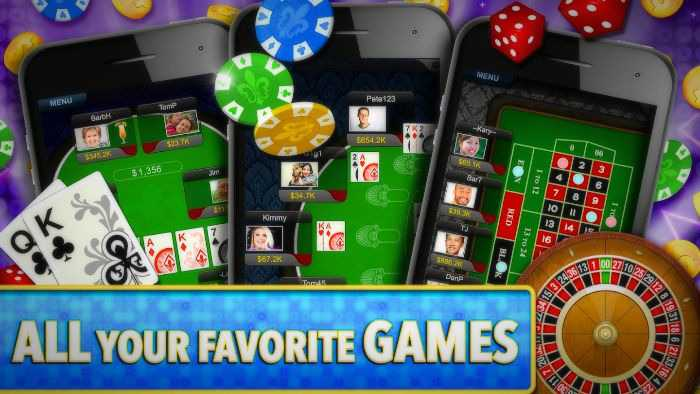 The most popular free casino apps for Android and iPhone